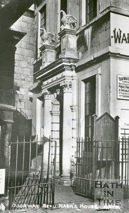 Doorway of Beau Nash's' House, c. 1930