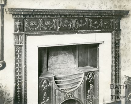 Fireplace, 16 Argyle Street, Bath c.1903