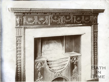 Fireplace, 16, Argyle Street, Bath c.1903