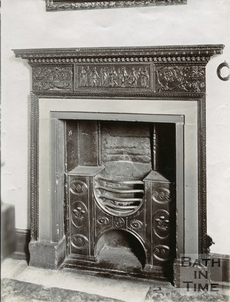 Fireplace, Nelson Place, Bath c.1903