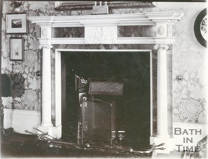 Fireplace, Royal Crescent, Bath c.1903