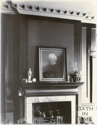 Fireplace, North Parade Buildings (Gallaway's Buildings), Bath c.1903