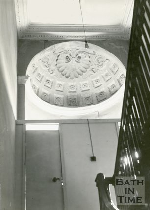 Staircase 1st-2nd floor, of no.11, North Parade, Bath, c.1920s