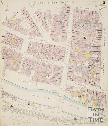 1902 Page 5 Goad Insurance Map of Bath