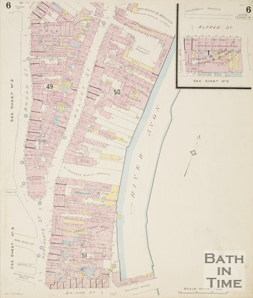 1902 Page 6 Goad Insurance Map of Bath