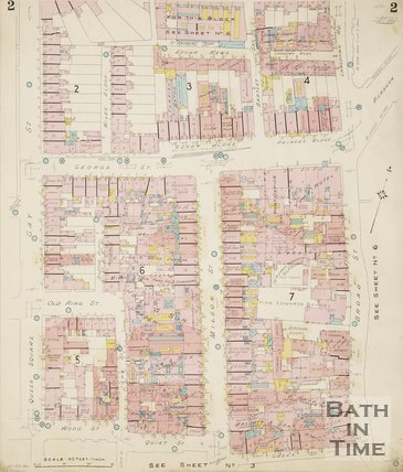 1924 Page 2 Goad Insurance Map of Bath