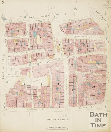 1924 Page 3a Goad Insurance Map of Bath