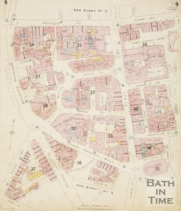 1924 Page 4 Goad Insurance Map of Bath