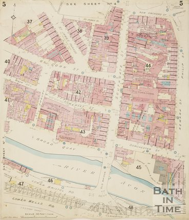 1924 Page 5 Goad Insurance Map of Bath