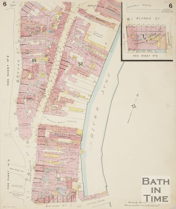 1924 Page 6 Goad Insurance Map of Bath