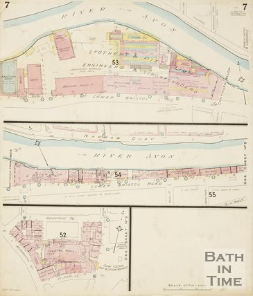 Page 7 Goad Insurance Map of Bath 1924
