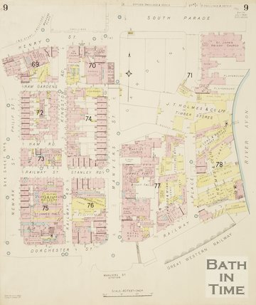 1930 Page 9 Goad Insurance Map of Bath