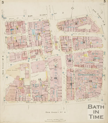 1936 Page 3 Goad Insurance Map of Bath