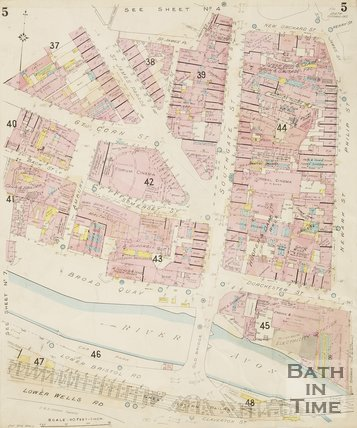 1936 Page 5 Goad Insurance Map of Bath