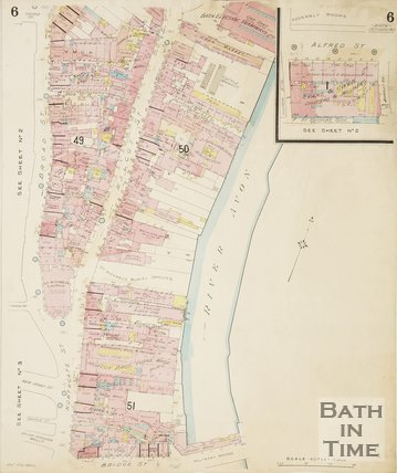 1936 Page 6 Goad Insurance Map of Bath