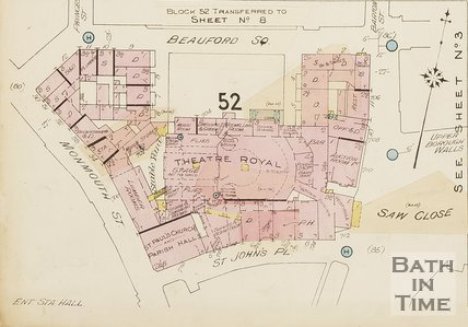 1936 Page 7c Goad Insurance Map of Bath