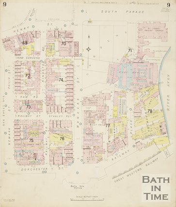 1936 Page 9 Goad Insurance Map of Bath