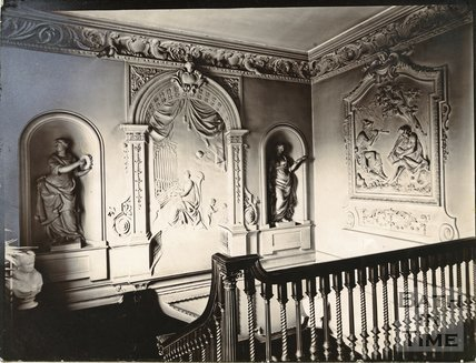 Plasterwork, 15, Queen Square, Bath c.1903