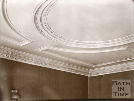 Plasterwork, 27, Queen Square, Bath c.1903