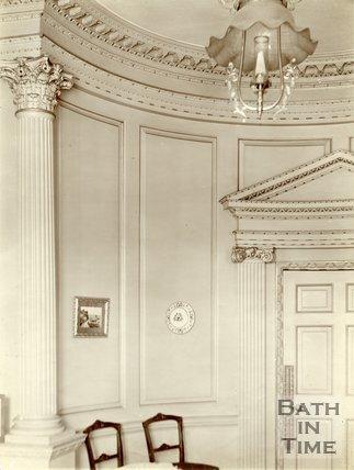 Plasterwork, 14, Gay Street, Bath c.1903