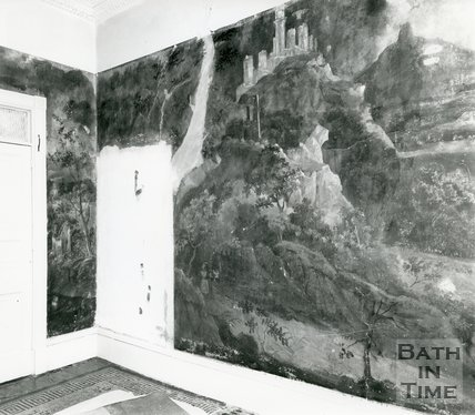 Wall Mural, No.39, Grosvenor Place, Bath