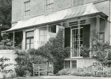 Wrought Iron Regency Balcony, London Road, Bath, c.1960s