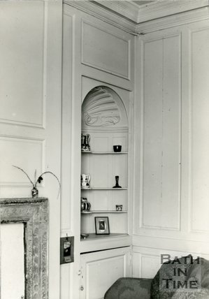 Interiors. No.11, North Parade, Bath, Basement Room, c.1930s