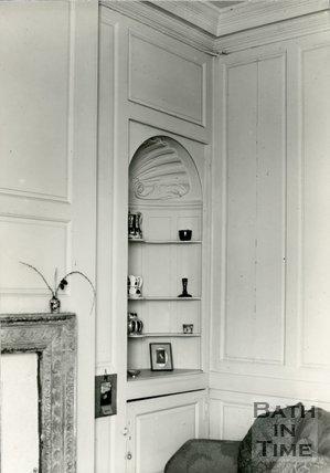 Interiors. No.11, North Parade, Bath, Basement Room, c.1930s