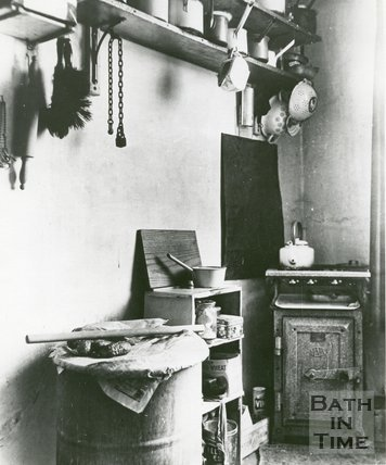Slum Kitchen, Bath, c.1950s