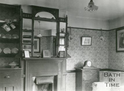 Slum Interiors. Southdown Housing Scheme. No.45, Oriel Grove, Bath, c.1950s