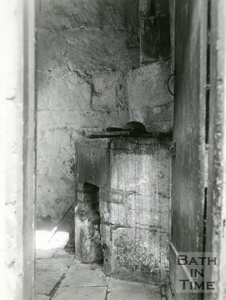 Slum Interiors. James' Buildings, Walcot, Bath, c.1950s