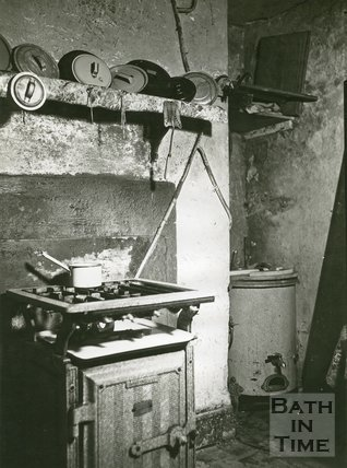 Slum Interiors, No.12, Waterloo Buildings, Widcombe, Bath, c.1950s