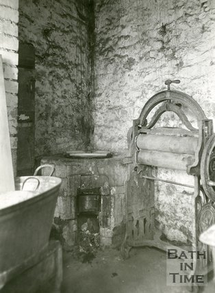 Slum Interiors. No.2, Waterloo Buildings, Widcombe, Bath, c.1950s