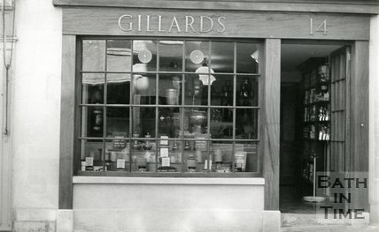 Gillard's Coffee Shop. Broad Street, 1969