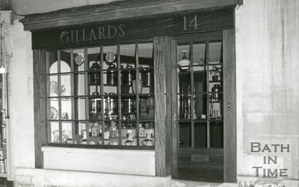 Gillard's Coffee Shop, Broad Street, 1969.