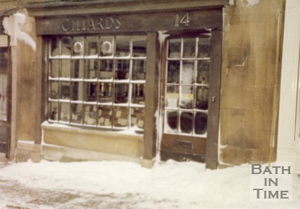 Gillard's Coffee Shop, Broad Street, Bath