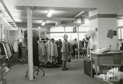 Plummer Roddis, Bath, 1st Floor. Last day of trading February 1971