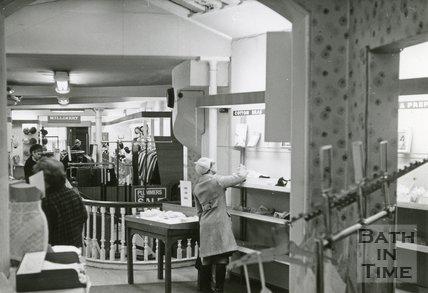 Plummer Roddis, Bath, 1st Floor. Last day of trading February 1971