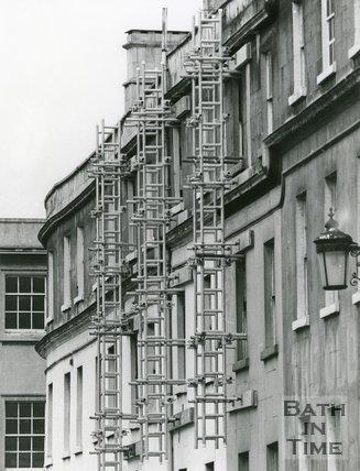 Plummer Roddis Block, Bath 8 May 1975