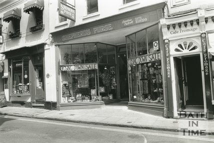 Shepherd's Purse, John Street, Bath, c.1992