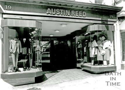 Austin Reed, No.19. Milsom Street, Bath, c.1993