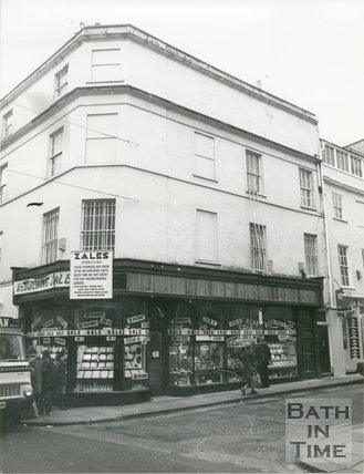 Zales Jewellers, corner of Stall Street and Beau Street, Bath, June, c.1979