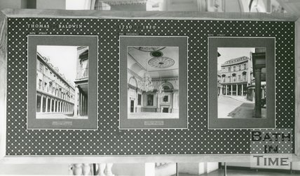 Bath Architecture Exhibition, The Octagon Chapel, Milsom Street, Bath, 1951