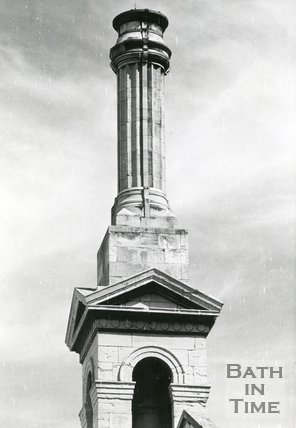 Chimney of Former Laundry, York Street, Bath, 1977