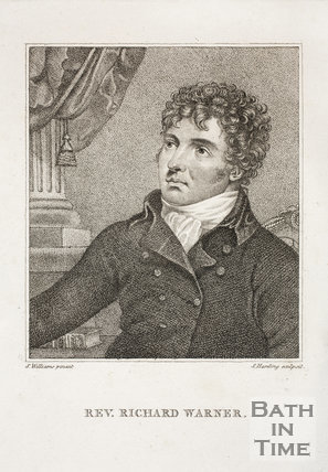 Portrait of Rev Richard Warner (1763̐1857)