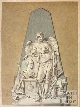 Monument for Alexander Champion, Bath Abbey, c.1793