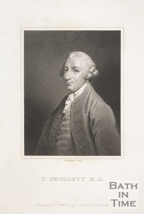 Portrait of T. Smollett M.D., c.1750