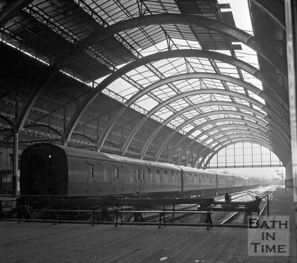 Green Park Station, Bath, before closure, c.1960s