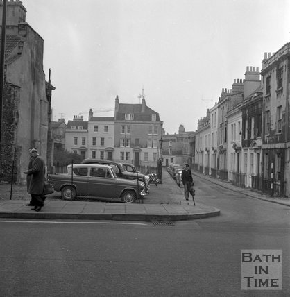 Beauford Square, Bath, 21 November 1964