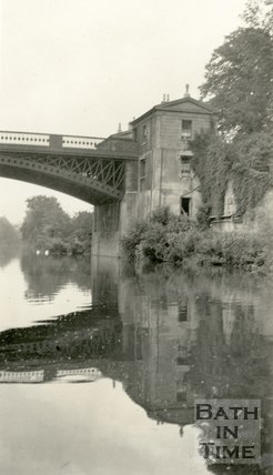 Cleveland Bridge, Bath, c.1915